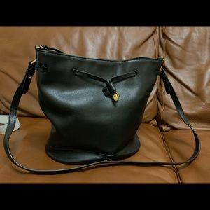 Ralph Lauren Leather Bucket Bag